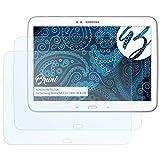 Bruni Schutzfolie für Samsung Galaxy Tab 3 10.1 (WiFi, 3G & LTE) Folie - 2 x glasklare Displayschutzfolie