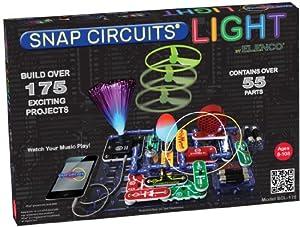 Snap Circuits - Juguete de electrónica (Elenco Electronics SCL-175) (versión en inglés)