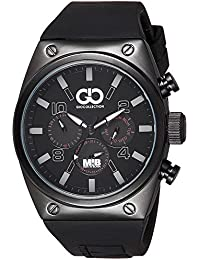 Gio Collection Analog Black Dial Men's Watch - AD-0044-A