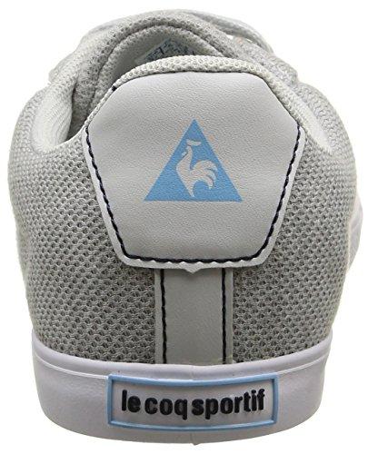 Le Coq Sportif Agate Lo Summer Jersey, Baskets Basses Femme Gris (Galet/Sky Blue)