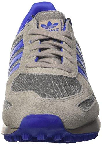 adidas la Trainer, Scarpe da Ginnastica Uomo Grigio (Chsogr/Boblue/Ftwwht)