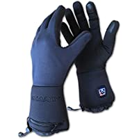Charly LI-ION FIRE PLUS, beheizbare Handschuhe / elektrisch beheizte Unterziehhandschuhe mit Akku, Windstopper