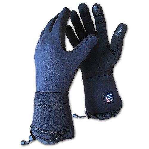 Charly LI-ION FIRE PLUS, beheizbare Handschuhe / elektrisch beheizte Unterziehhandschuhe mit Akku