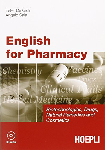 English for Pharmacy. Con CD Audio