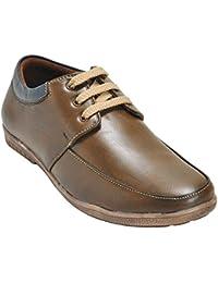Kolapuri Centre Brown Color Casual Lace Up Shoe For Men's