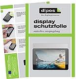 dipos I 2X Schutzfolie matt passend für Medion Lifetab P10612 Folie Displayschutzfolie