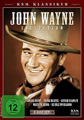 John Wayne Collection - Land der Zukunft/Freunde im Sattel/Wasser für Arizona/Aufstand in Santa Fe/Die Hölle von Oklahoma [5 DV