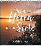 Lobe den Herrn, meine Seele 2020 - Wandkalender: Mit den Psalmen durch das Jahr. -