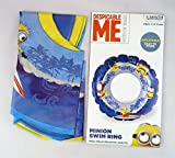 BRAND NEW DESPICABLE ME MINIONS SWIM RING SWIMMING SUMMER AGE 3-6 YEARS