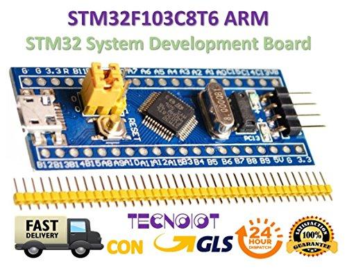STM32F103C8T6 ARM STM32 Minimum System Development Board Module for Arduino | STM32F103C8T6 ARM STM32 Minimales Systementwicklungsmodul für Arduino | Entwicklungsboard für Arduino Arm Systemmodul STM32 Core: CPU Arm 32 Cortex-M3