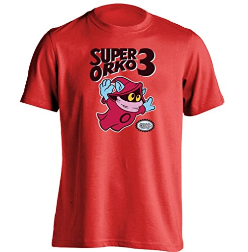 Arnoldo Blacksjd Super Orko 3 Super Mario Bros He Man And The Masters Of The Universe T Shirt Large