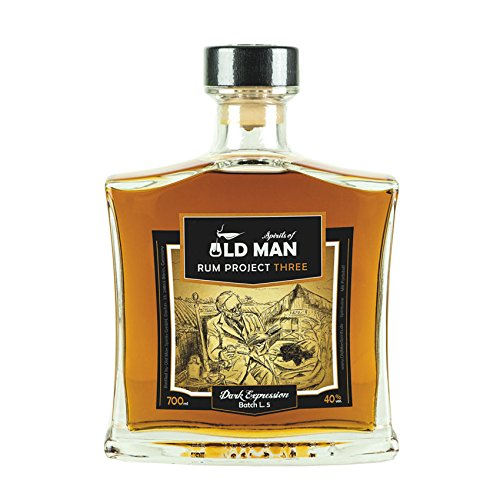 Rum Project Three (Dark Expression) by Spirits of Old Man 0,7l 40{1f3521a033fd5fcfacbb0120199f62ff8593bca5b7f9888eea0d40c9215e26d6}