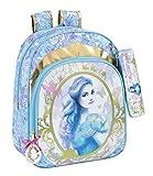 Safta Cinderella Mochila escolar, 42 cm, Multicolor