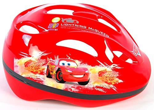 Cars Disney Lightning McQueen Kinder Fahrrad-Helm Deluxe Gr. 51-55 cm