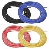 Kabel-Mix ( je 5m schwarz/rot/blau/gelb )