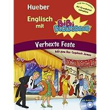 Englisch mit BiBi BLOCKSBERG™: Verhexte Feste / Buch mit Audio-CD