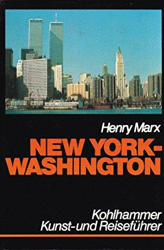 New York - Washington (Kohlhammer Kunst- und Reiseführer)