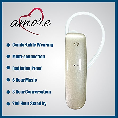 Amore Karbonn Smart A51 Plus Mobile Bluetooth Headset Compatible With Volume Control  available at amazon for Rs.649