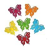 CommercioEuropa 6 Formine Pannolenci - Farfalle