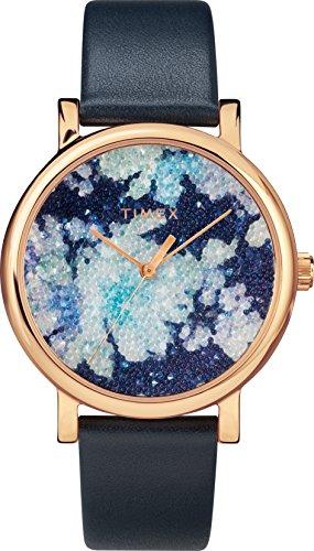 Timex Reloj Analógico para Unisex Adultos de Automático con Correa en Cuero TW2R66400