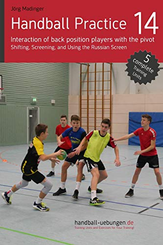 Handball Practice 14 - Interaction of back position players with the pivot: Shifting, Screening, and Using the Russian Screen