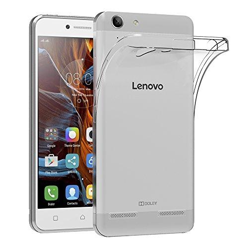 Lenovo K5 Hülle, AICEK Transparent Silikon Schutzhülle für Lenovo K5 Case Crystal Clear Durchsichtige TPU Bumper Lenovo K5 Handyhülle