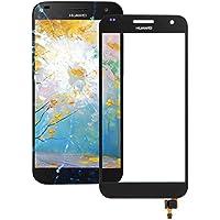 Piezas de repuesto de teléfonos móviles, Digitalizador Asamblea iPartsBuy Huawei Ascend pantalla táctil del G7 ( Color : Negro )