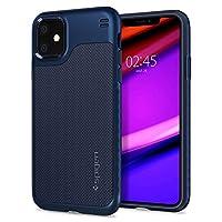 Spigen Hybrid NX Serisi Kılıf iPhone 11 ile Uyumlu/TPU AirCushion Teknoloji/Ekstra Koruma - Denim Blue
