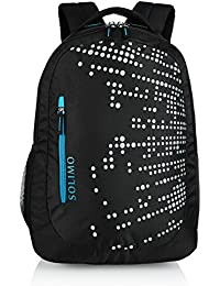 Amazon Brand - Solimo Laptop Backpack for 15.6-inch Laptops (29 litres, Black)