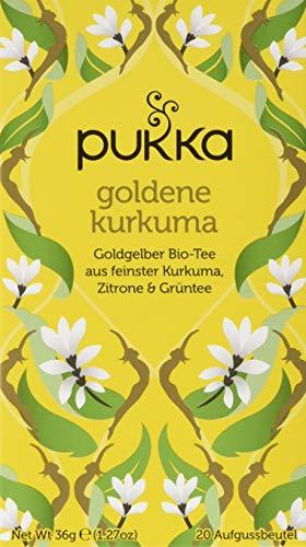 Pukka Bio-Tee Goldene Kurkuma 80 Teebeutel, 4er Pack (4 x 20 beutel)