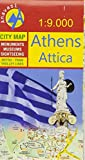 Stadtplan Athens 1 : 9 000