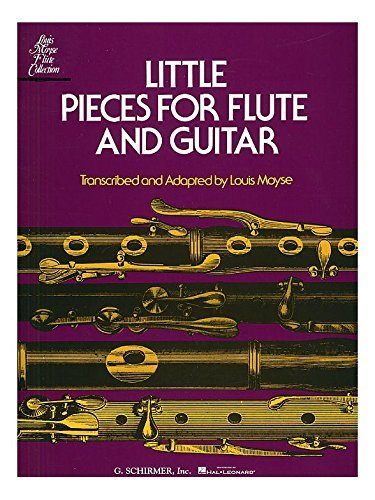 Little Pieces For Flute And Guitar. Für Querflöte, Gitarre