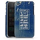 Coque dure Apple iPhone 3G PremiumCase white - People Wait