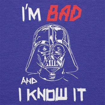 Texlab–I m Bad And I Know It–sacchetto di stoffa Marine