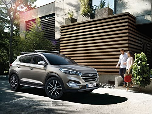 Hyundai Dachgepäckträger Original Tucson Aluminium