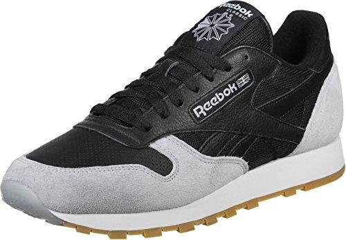 Reebok CL Leather Spp Black Cloud Grey Sneakers - Scarpe Da Ginnastica Nere Grigie
