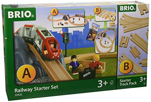 BRIO® 33432 Bahn Railway Starter Set A und B Sonderset