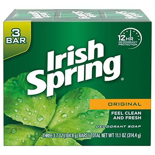 Irish Spring Deodorant Soap Original 3-Count
