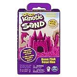 Kinetic Sand- Spinmaster Sabbia Modellabile Colori Confezione Base, Rosa, 227 gr, 20080706