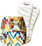 NEW Superbottoms Newborn Cloth Diaper wi...