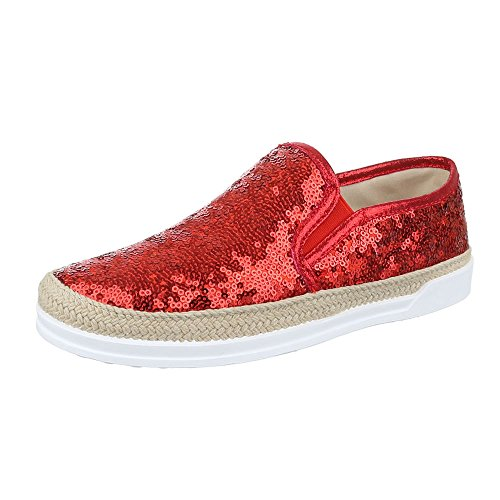 W-61, chaussures basses femme Rot 50701