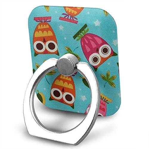 Cell Phone Ring Holder, Finger Grip Stand Holder,360 Degrees Rotation,Compatible with iPhone,Samsung,Phone Case,etc ()
