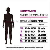 Zipravs Women's Yoga Hose Capri Leggings – verschiedene Muster und Farben - 4