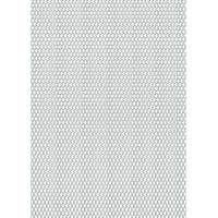 GAH-ALBERTS 467241 - Ampliado chapa - aluminio, anodizado color plata, 250 X 500 X 1,6 Mm