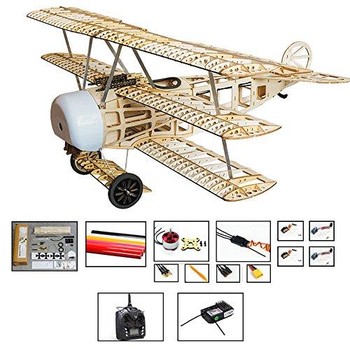 Dancing Wings Hobby Upgrade FOKKER Dr I Balsa Wood Model Aircraft