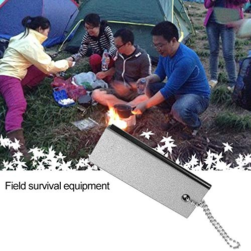 Outdoor-Ausrüstung Überleben wasserdicht Magnesium Rod Flint Camping Feuerwaffe Fire Stick Magnesium Block