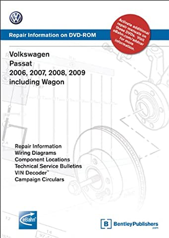 Volkswagen Passat 2006, 2007, 2008, 2009: Repair Manual on DVD-ROM: Includes Wagon