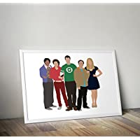The Big Bang Theory Inspired sheldon cooper Poster Stampa regali - Poster TV/film alternativi in varie dimensioni (cornice non inclusa)
