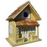 Garden Bazaar Hb-7001y Country Cottage Bird House–Jaune