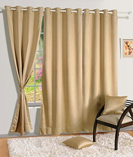 HOMEC Elegant Blackout Multi Eyelet Window Curtain - 48